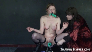 Lesbian Slavegirl Sam West Punished And Humiliated