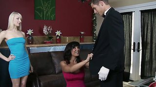 Mr. Johnson Eats Out And Is Blown By Lisa Ann