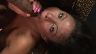 Jayna oso is into wild throat ramming