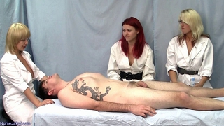 Nurse Handjob: Dd's To Keep Him Sedated