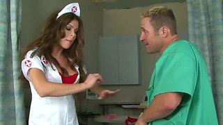 Curvy Nurse Hunter Bryce Get A Titfuck From Doctor Jack Lawrence